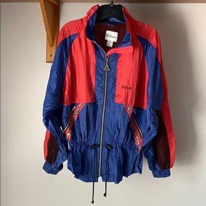Vintage Wilson ColorBlock Nylon Windbreaker Jacket